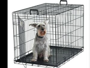 Like New Metal Dog Crate