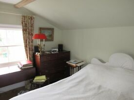 Large, Beautiful, Bright double en suite room with antique furnishings