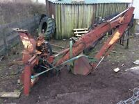 TWOSE Back Actor digger for tractor 3 point linkage