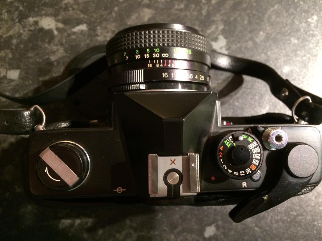 Cosina film camera and 5lenses