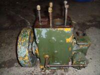 Lister D 1.1/2 hp vintage engine