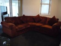 Michael Tyler Curved sectional settee/sofa