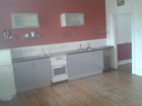 Very Spacious part-furnished 1 bed 1st Floor Flat Available. Period Building Montpelier. Wood Floors