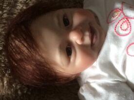 Smiley reborn baby