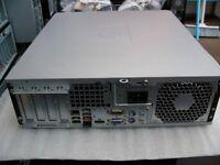 HP COMPAQ dc5800 SMALL FORM FACTOR DESKTOP PC.