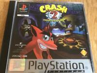 PlayStation 1 crash bandicoot game. Ps1