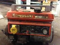 kg1100b generator runs good £100 give me a ring works good starts first time every time