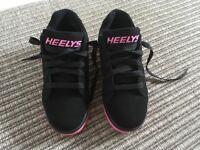 Heelys Black/Hot Pink U.K. Size 5