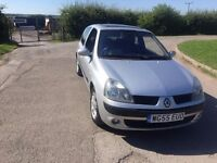 CLIO 1.2 55 PLATE WITH 77000 MILES CAMBELT JUST DONE 12 MONTHS MOT