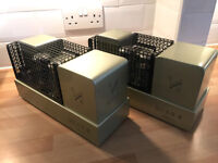 Pair of QUAD II Classic Power Amps + QUAD QC24 Pre-amp