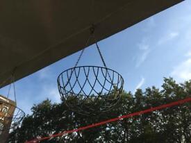 X2 Hanging planters / hanging baskets