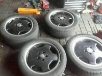 mercedes monoblock alloys