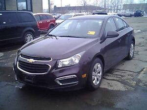 2015 Chevrolet Cruze 1LT A/C 37,000KM CAMERA TURBO BLUETOOTH AUT