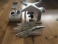 DJI Phantom 3 Advanced + Additional Battery + Props + Hard Case - £575