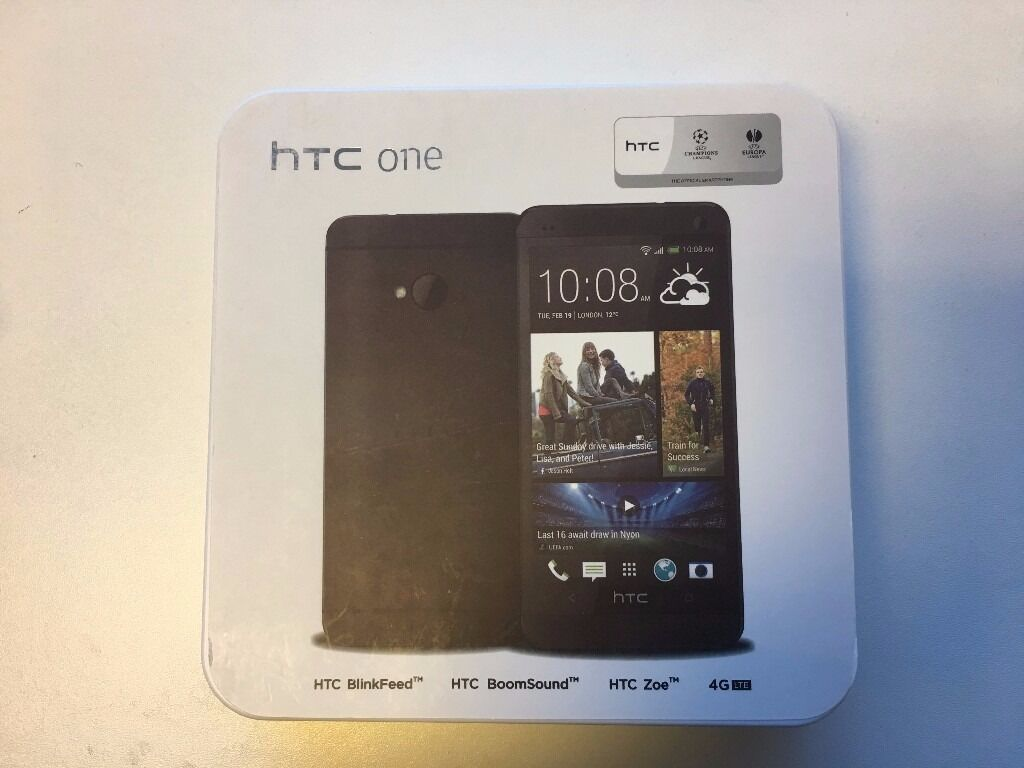 HTC One M7 in box with all accessories SIM FREE UNLOCKEDin Birmingham City Centre, West MidlandsGumtree - WHOLESALE PRICE HTC One M7 Boxed with All Accessories SIM FREE UNLOCKED to all networks. Grade A Refurbished Price £100 (Fixed Price, No Bargain, No Offers) Specifications 143g, 9.3mm thickness Android OS, v4.1.2, up to v5.0 Internal Memory 32/64...