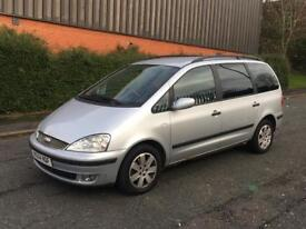 FORD GALAXY ZETEC TDCI AUTOMATIC 7 SEATER IMMACULTE EXAMPLE GREAT FAMILY SIZE CAR***