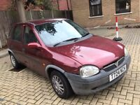VAUXHALL CORSA 1.2 CDX 16V 5 DOOR HATCHBACK PETROL AUTOMATIC RED MOT 5 SEATS NOT FIESTA CLIO KA POLO