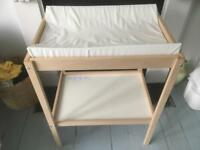 Ikea Sniglar changing table + mat