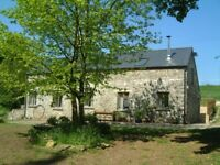 Beautiful Converted Eco Barn with shared use of 24 acres, rural location, 4 bedrooms 2 bathrooms.