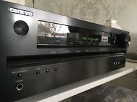 Award winning Onkyo AV reciever with 4 HDMI inputs and iphone, ipod connection