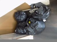 4 Bin Bags of Clothes Mens Car boot Sale