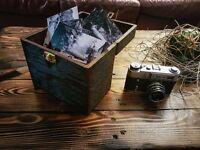 Upcycled Pinewood chest/keepsake box