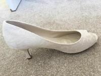 Wedding shoes size 6