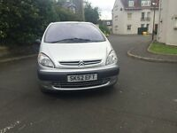 CHEAP CHEAP CITROEN XSARA PICASSO 2.0 HDI (diesel) --- LOW MIL 79K -- GOOD CONDITION