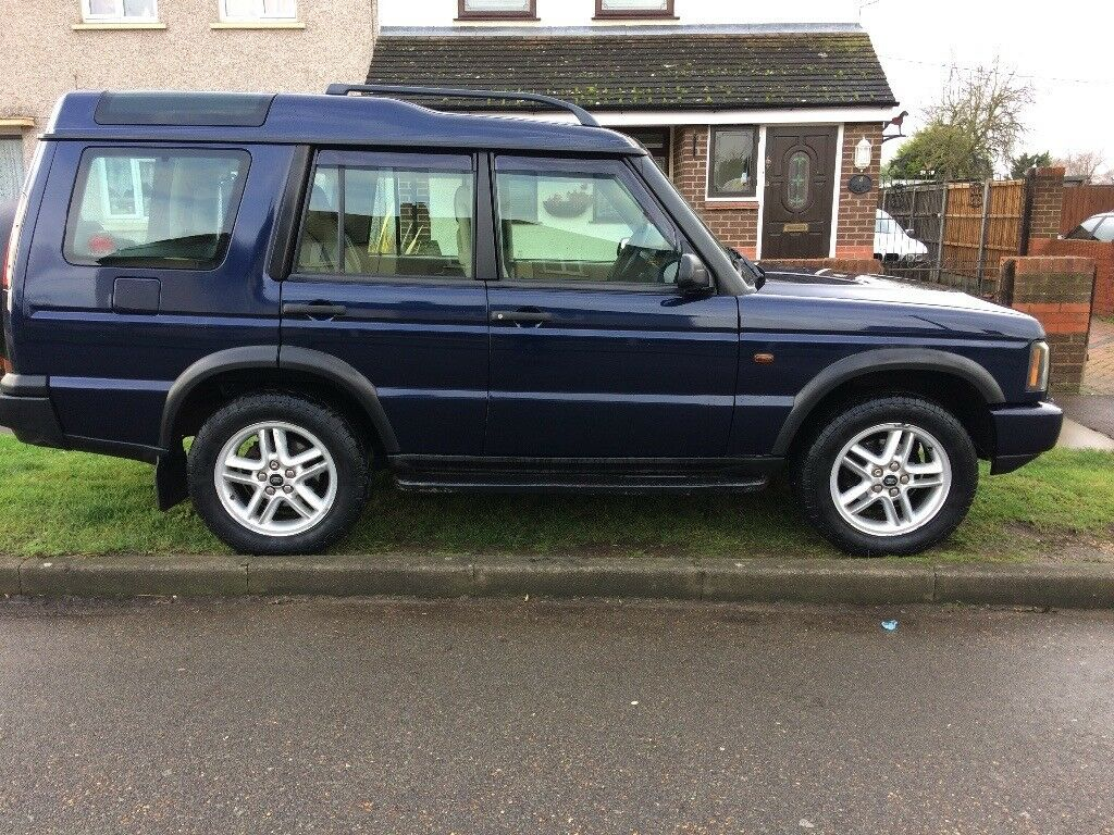 Land Rover discovery landmark td5 2004 full leather
