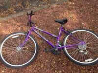 Second hand 15 gear mountain bike for sale