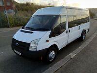 ford transit 17 seater minibus 2008 08 reg ( no vat )