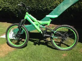 Spike ministry 20in dual suspension bike