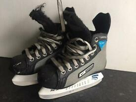 Child's Nike Bauer Size 11 Ice Skates