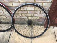 700c deep rim cycle wheels