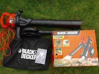 Black and Decker GW2200-GB 2200w garden vacuum and leaf blower