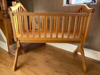 Mamas and Papas Classic Retro Cradle Crib Cot