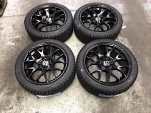 "17"" VMR Wheels 5x112 and Winter Tires 225/45R17 (Volkswagen) Calgary Alberta Preview"