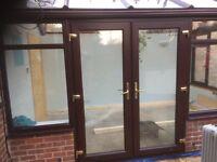 Wood Grained UPVC Doors & Windows