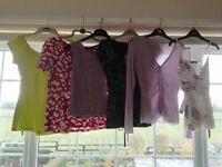 Ladies' summer tops size 10 bundle