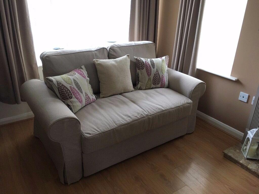 Ikea Backabro Two Seater Sofa Bed Virtually Brand New
