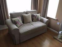 Ikea BACKABRO Two Seater Sofa Bed - Virtually brand new!