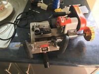 tempest plus key cutting machine for cylinder & mortice