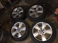 "Bmw alloys 18"" all good tyres"