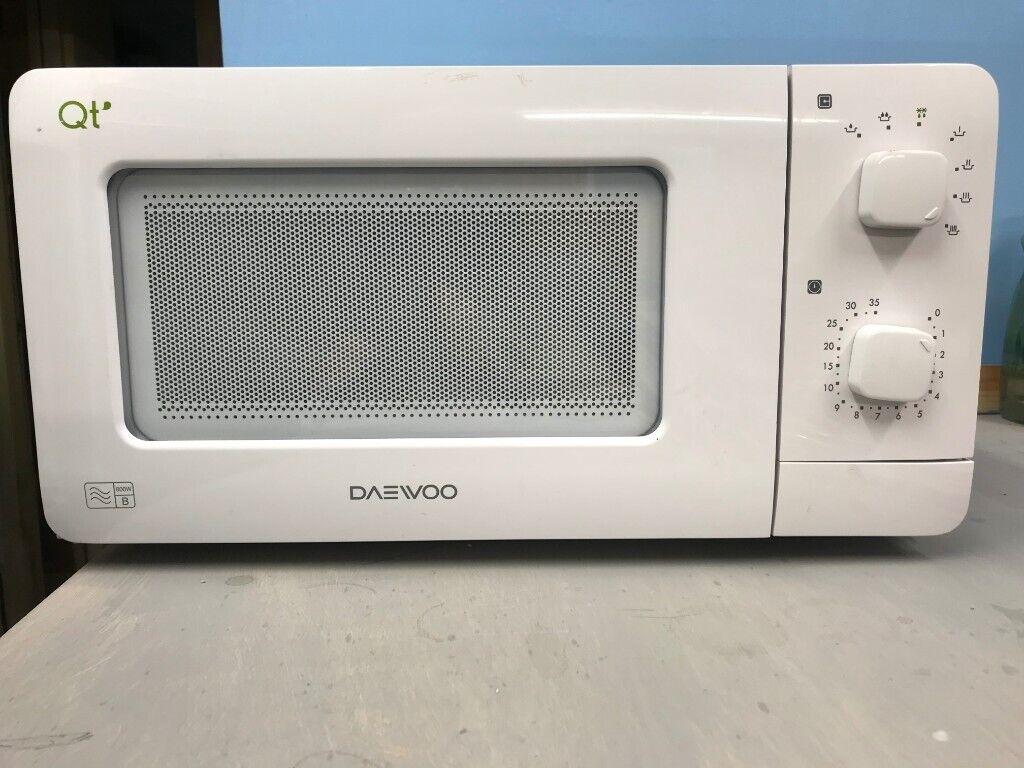 Daewoo 600w Microwave Oven Suitable For Caravan Or Motorhome