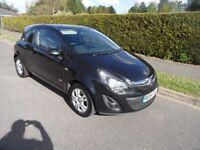 Vauxhall Corsa Sportive 1.3 CDTi van, 31/Dec2014/64, 6-speed, Diesel, black