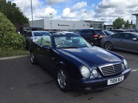 Mercedes CLK 230 CAB 30K MILES FROM NEW