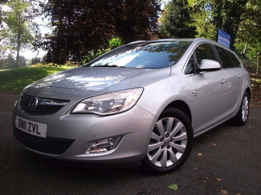 Vauxhall Astra 2.0 CDTi 16v SE 5dr £5,490 FULL S/H, NEW CLEAR MOT 2011 (11 reg), Estate 01162149247