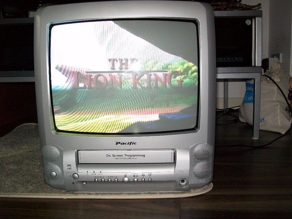 pacific tv and vhs combi