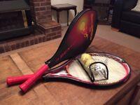 2 Children's Tennis Racquets