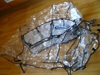 Original Rain cover Graco double buggy tandem